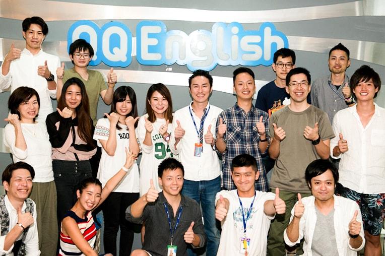 QQ EnglishITパーク校日本人スタッフ